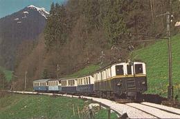 LOCOMOTIVE DZE6/6 DE 1932 CHEMIN DE FER MONTREUX OBERLAND BERNOIS - Trains