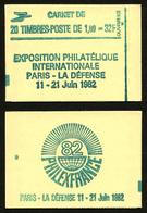 FRANCE - CARNET YT 2155-C4 - FERME - DATE - Confectionneuse 8 - Libretti