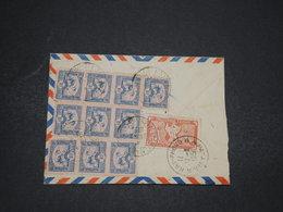 INDOCHINE - Enveloppe De Hai Phong Pour La France En 1951 , Affranchissement Au Verso - L 16509 - Indochina (1889-1945)