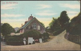 Old Post Office, Lee, Devon, 1906 - Twiss Bros Postcard - England