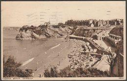 Towan Beach, Newquay, Cornwall, 1943 - Salmon Postcard - Newquay