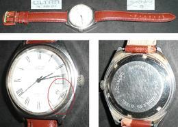 Ancienne Montre Mécanique ULTRA Incabloc, Automatic S, Verre à Facettes - Watches: Old