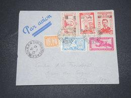 INDOCHINE - Enveloppe De Saïgon Pour La France En 1947 , Affranchissement Plaisant - L 16521 - Indochina (1889-1945)