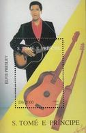 St.Thomas & Prince. 1996. Music.Elvis. Michel. Bl.362. MNH.25629 - Music