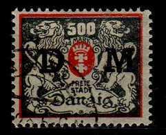 Danzig 1922 Dienstmarken Mi 40, Gestempelt [040518XXII] - Danzig
