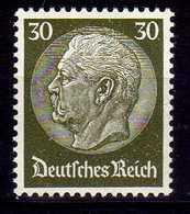 Deutsches Reich, 1933, Mi 490 *, Hindenburg [040518XXII] - Nuevos