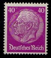 Deutsches Reich, 1933, Mi 491 *, Hindenburg [040518XXII] - Ongebruikt