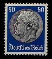 Deutsches Reich, 1933, Mi 494 *, Hindenburg [040518XXII] - Nuovi