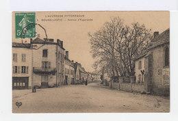 L'Auvergne Pittoresque. Bourg Lastic. Avenue D'Eygurande. (2768) - France