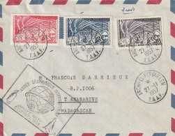Lettre Archipel Kerguelen Année Geophisique 1957 - French Southern And Antarctic Territories (TAAF)