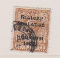 Irlande / N 8b  / 5 P Brun Jaune / Oblitéré - 1922-37 État Libre D'Irlande
