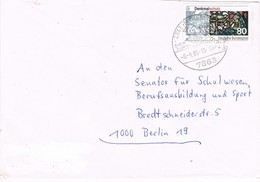 28484. Carta ZELL IM WIESENTAL (Alemania Federal) 1986. Feria, Fechador Especial - [7] República Federal