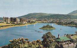 Postcard Mooragh Park Ramsey Isle Of Man  PU 196? My Ref  B12076 - Isle Of Man