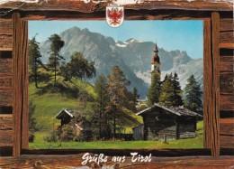 Austria Gruss Aus Tirol Obernberg Bei Gries am Brenner