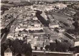MONTREJEAU VUE GENERALE AERIENNE CPSM GM 1962 TBE - Montréjeau