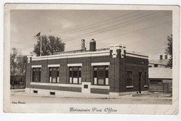 BOISSEVAIN, Manitoba, Canada, Post Office, 1947 Hoy RPPC RPPC - Other