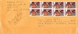 28489. Carta Aerea SAN JOSE (California) 2002. Jerome Kern - Etats-Unis