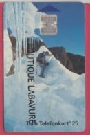 SUEDE--Telecarte 50 Markeringar---Chip SC7 Alpiniste - Suède