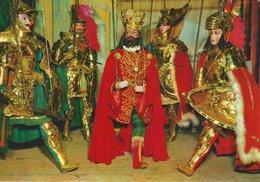 Sicilia - Folklore Theatre: The Puppets Opera.  Italy.  # 07479 - Unclassified