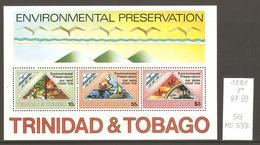 Trinité & Tobago, Année 1981, Environnement - Trinité & Tobago (1962-...)