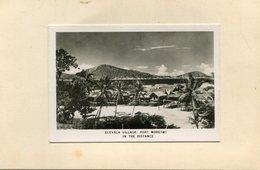 NOUVELLE GUINEE(PHOTO COLEE SUR UN CARTON) - Papoea-Nieuw-Guinea