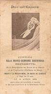 Image Religieuse, Prière Pour La Béatification De Soeur Marie-Bernard Soubirous (+1879), Nevers - Devotion Images