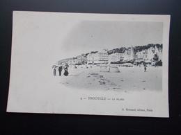 TROUVILLE La Plage  1901/05 - Trouville