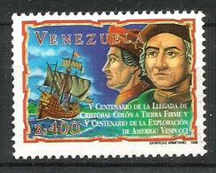 1998 VENEZUELA Congiunta Italia  VESPUCCI   Serie Completa Nuova ** MNH - Venezuela