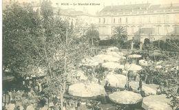 (06) NICE : Le Marché D'Hiver (animée) - Mercati, Feste