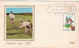 Spain & FDC I Copa Mundial De Hockey, Madrid  1971 (2058) - Hockey (su Erba)