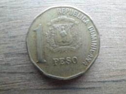 Dominicaine  1  Peso  2000  Km 80 - Dominicana