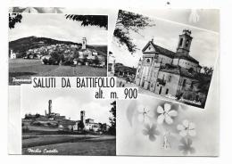 SALUTI DA BATTIFOLLO  - VIAGGIATA FG - Cuneo