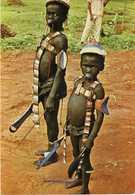 REPUBLIQUE DEMOCRATIQUE DU CONGO - Tribu Gwaka - Region De Lisala,garsons - Congo - Kinshasa (ex Zaire)
