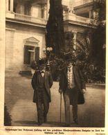 Reichskanzler Von Bethmann Hollweg +  Griechischer Ministerpräsident Benizelos / Druck, Entnommen Aus Zeitschrift / 1914 - Packages