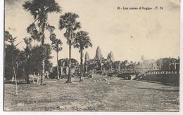CAMBODGE RUINES D ANGKOR  Q416 - Cambodge