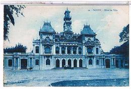 CPA VIET NAM   SAIGON HOTEL DE VILLE 1T958 - Viêt-Nam