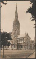 Salisbury Cathedral, Wiltshire, C.1930 - RP Postcard - Salisbury
