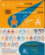 AMSTERDAM ARENA CARD DE HOLANDA (CHIP). (187) - Otras Colecciones