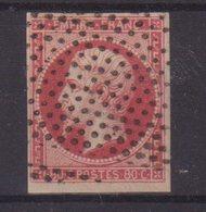 FRANCE : N° 17 . OBL . POINTILLES FINS . TB . - Marcophily (detached Stamps)
