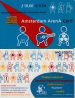 TARJETA FUNCIONAL DE AMSTERDAM ARENA CARD DE HOLANDA (CHIP), MUSICA. (194) - Otras Colecciones