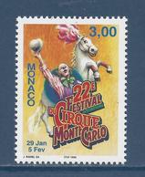 Monaco - YT N° 2139 - Neuf Sans Charnière - 1997 - Monaco
