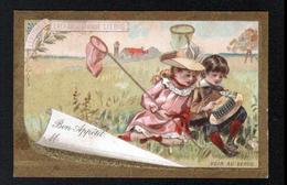 LIEBIG , S2, Carte De Table, Serie: Scenes Enfantines - Liebig