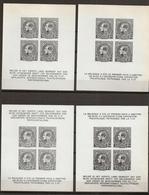 BELG.1949 F.I.P. -- BL1 -- 218 Montenez -- 4 Velletjes / Les 4 Feuillets ! - Erinnophilie