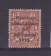Irlande / N 3  / 1 1/2 P Brun / NEUF Avec Trace De Charnière - 1922-37 Stato Libero D'Irlanda