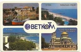 Bulgaria - Betkom - Collage - 5BULA - 05.1992, 6.000ex, Used - Bulgaria