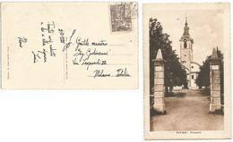 Fiume Cor.5 Isolato Cartolina Tersatto 2ott1921 X Milano - 8. Ocupación 1ra Guerra