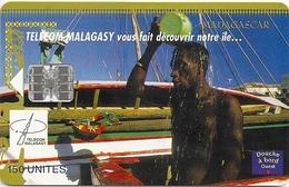 Madagascar - Telecom Malagasy - Shower Time - 150Units, SC7, 03.1999, 50.000ex, Used - Madagascar