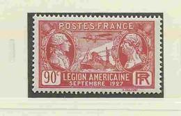 = Yvert N°244-245 - Visite De La Légion Américaine - France