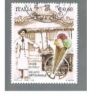 ITALIA REPUBBLICA  -   2006                GELATO ARTIGIANALE           -   USATO  ° - 6. 1946-.. Repubblica