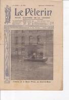 LE PELERIN 1910 6 Février Les Inondations à Paris;: Une Catastrophe Nationale, Les Soldats ... - 1900 - 1949